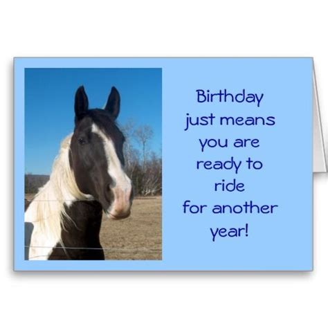 printable birthday cards horse pinterest the world s catalog of ideas