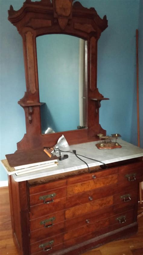 marble top dresser for sale antiques
