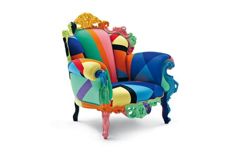 Proust Armchair by Proust Geometrica Alessandro Mendini Cappellini