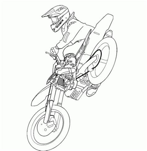 Motorrad Tattoo Vorlagen Gratis by Dibujo De Dibujo Motocross Motociclismo Salto Gratis