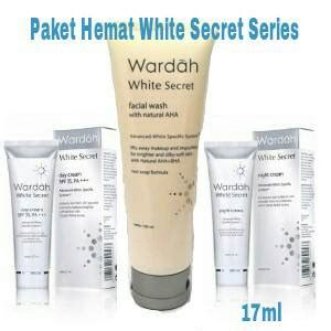 1 Paket Wardah White Secret jual paket hemat wardah white secret series 17ml galeri