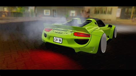 widebody porsche 918 gtainside gta mods addons cars maps skins and more