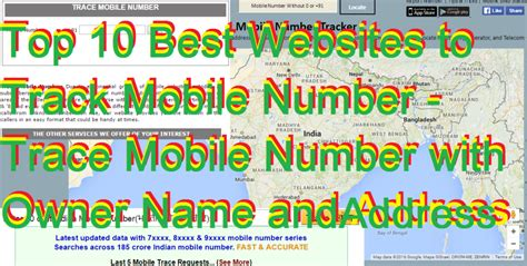 mobile number tracker with address top 10 best websites to track mobile number trace mobile