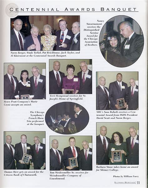 the 2003 centennial awards