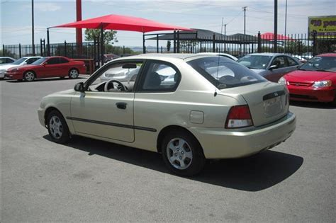 2002 Hyundai Accent Hatchback by 2002 Hyundai Accent L 2dr Hatchback In El Paso San