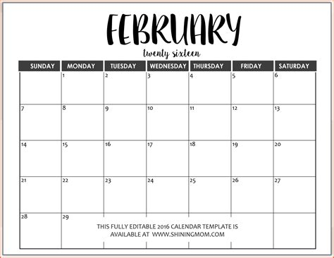 Word Calendar Template Cyberuse Calendar Template For Word