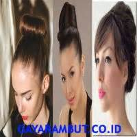 cara cepol rambut yang simple 50 cara cepol rambut pendek dan simple gayarambut co id