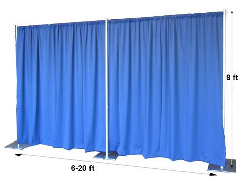 drapes and pipes quick backdrop kits pipe and drape from onlineeei com