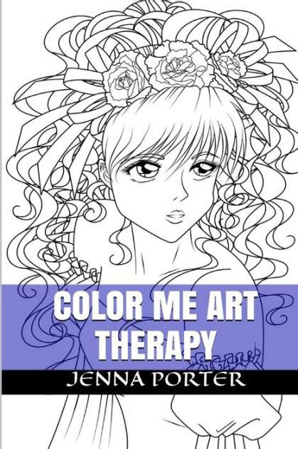 anti stress coloring book barnes and noble color me therapy designs and templates about anti