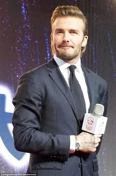 Beckhams 16 M Italian Tv Deal by David Beckham Named Ambassador For Insurance Aia