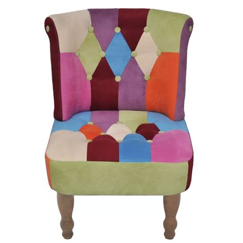 sillon frances sill 243 n franc 233 s reposabrazos con retales de tela tienda