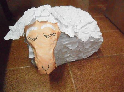 www como hacer una oveja de carton paso x paso c 243 mo hacer ovejita durmiendo para escena de pesebre