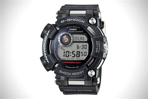 casio dive casio g shock frogman dive hiconsumption