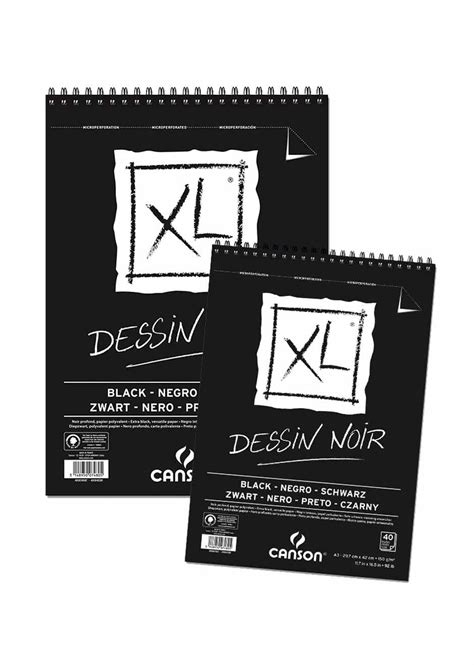 sketchbook kiky a3 canson dessin noir toko prapatan