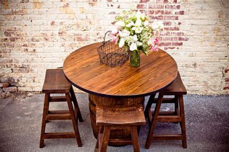 southern heritage woodworks 1000 ideas about pub tables on barrel table