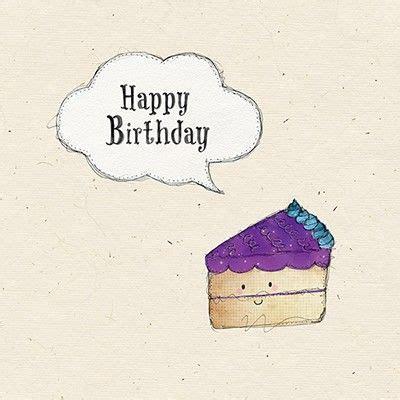 Birthday Cards For Him Slice Of Cake Birthday Card Karenza Paperie
