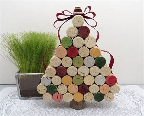 cork christmas tree 22 awesome easy ways to make tree this year home designing