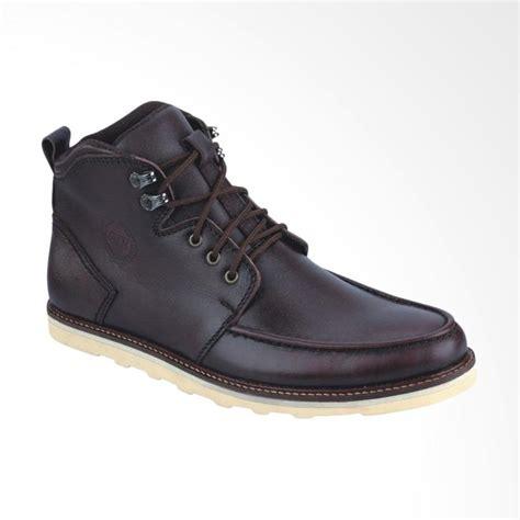 Cat Sepatu Kulit Coklat jual catenzo sepatu boots pria coklat harga