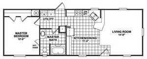 1 Bedroom Mobile Home Floor Plans by Singlewide Mobile Homes From Clh Commercial