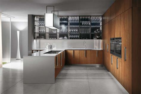 italian design kitchen barrique modern italian kitchen design