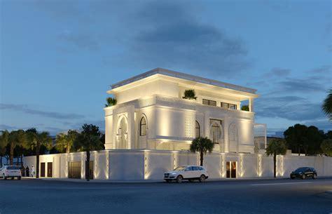 free images work architecture structure sky villa family villa modern arabic exterior design in saudi arabia