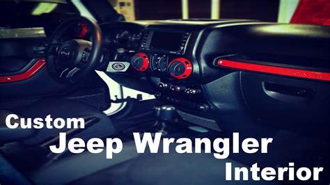 custom jeep interior mods diy custom jeep wrangler interior part 1