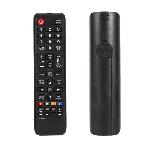 2 samsung tv remote conflict replacement remote for samsung lcd smart plasma tv aa59 00786a black ebay