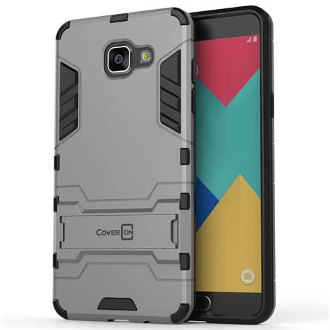 Samsung Galaxy A510 A5 2016 Hybrid Armor Shield Soft Gel hybrid armor kickstand phone cover for samsung galaxy