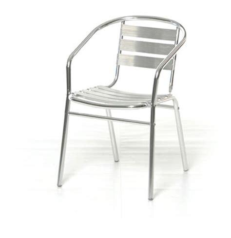 sedie da terrazzo sedia poltrona alluminio esterno impilabile giardino