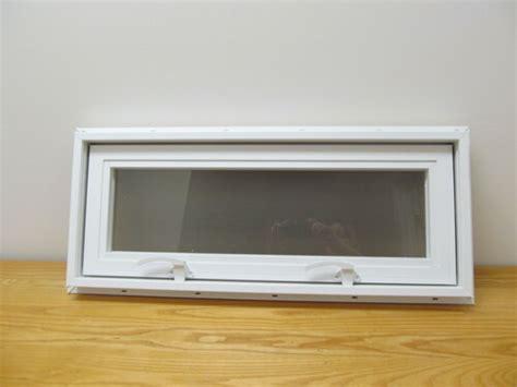 awning transom insulated glass vinyl window