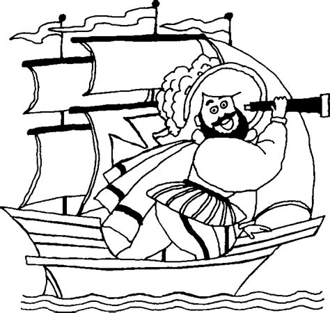 columbus day coloring pages 5 coloring kids
