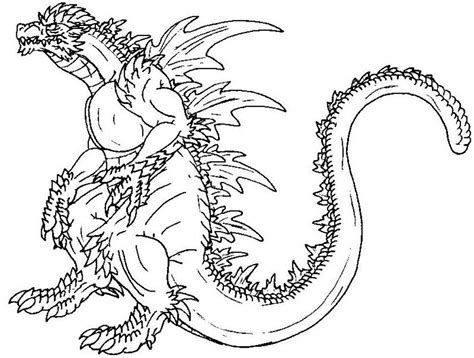 printable coloring pages godzilla search results for printable image