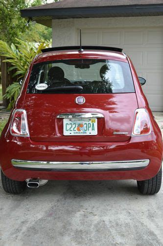 Warranty On Fiat 500 Buy Used Loaded Fiat 500 Lounge 2012 Leather Interior