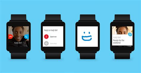 skype for android phone skype dons android wear support