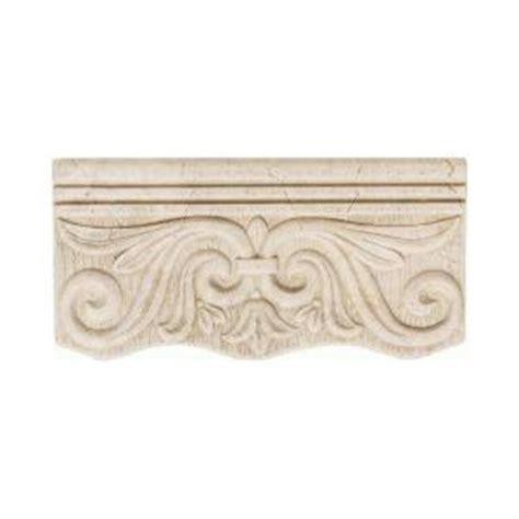 home depot decorative tile daltile fashion accents crema 4 in x 8 in ceramic