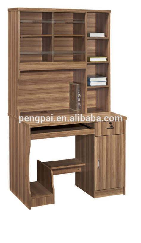 modern high quality study table with bookshelf buy study