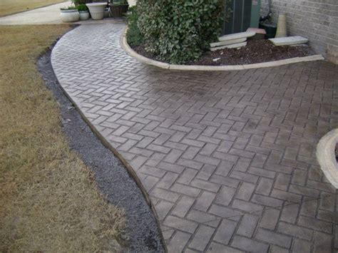driveway pattern roller best 25 sted concrete patterns ideas only on pinterest