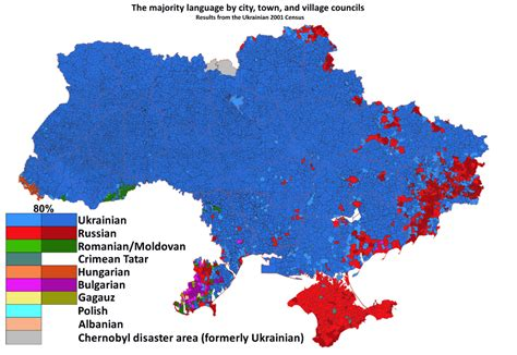 russia linguistic map ukraine in my linguistic maps