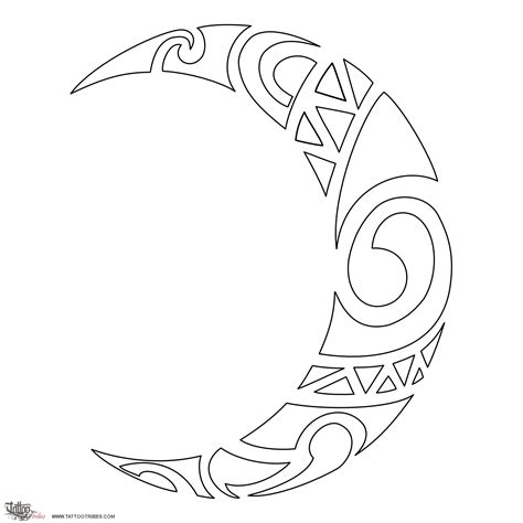 tattoo designs and stencils http www tattootribes multimedia 88 maori moon