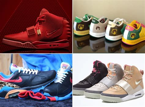 kanye sneaker a history of kanye west s sneaker collabs sneakernews