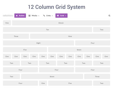 12 column grid template free codecanyon zetta menu jquery mega menu template