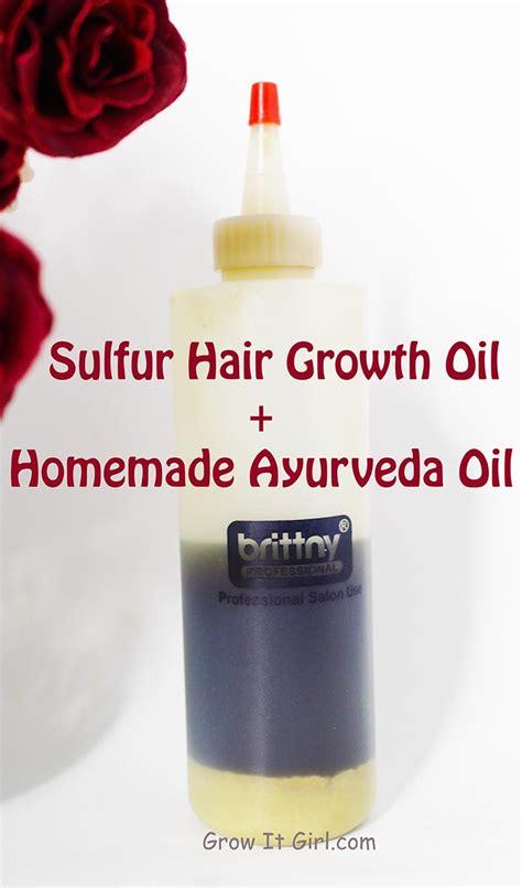 sulfur to grow hair bald spot sulfur hair growth oil recipe grow it girl