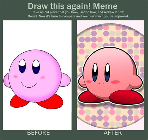 Kirby Memes - do it again meme simple kirby by riodile on deviantart