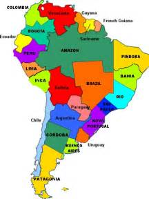 south america states map best photos of south america topics south america rivers