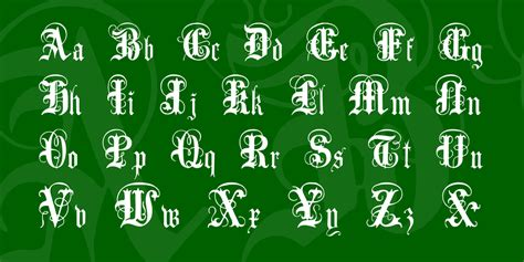 String Font - anglo text font 183 1001 fonts