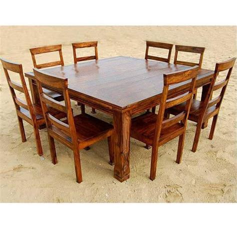 9 dining table square rustic 9 pc square dining room table for 8 person seat