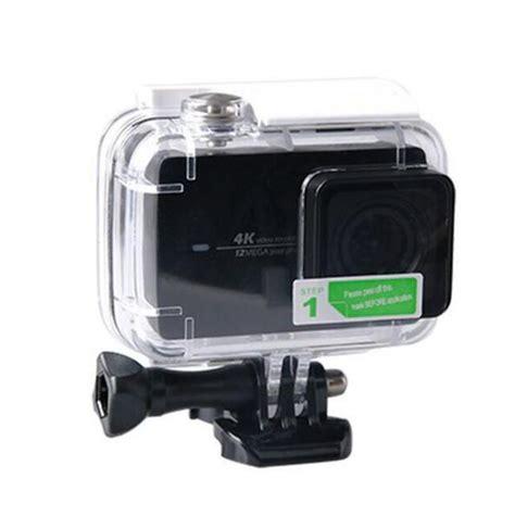 Sinofer Housing Waterproof For Xiaomi Yi 4k waterproof housing lens protective lcd screen protector for xiaomi yi 2 ii 4k