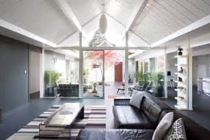Eichler Architecture by Double Gable Eichler Remodel By Klopf Architecture