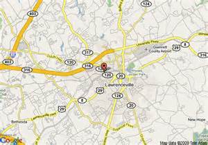 map of extended stay america economy atlanta lawrenceville