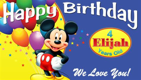 Simple Decoration For Birthday Party At Home mickey mouse club house custom birthday and 50 similar items